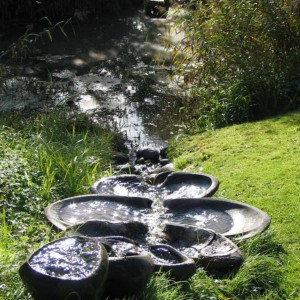 A Flow Form in the Gardens