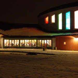 The Culture House at Night
