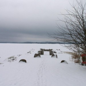 The Fjörd in Winter