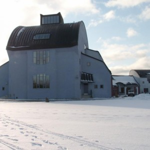 The Culture House in Winter