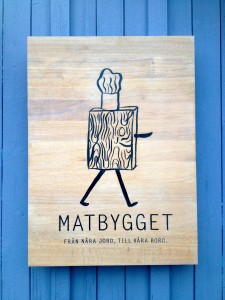 Matbygget Sign