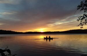canoesunset