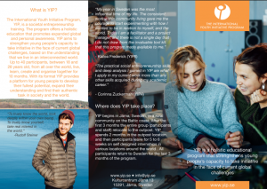 YIP Flyer 2018